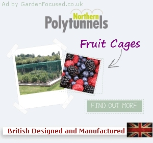 Northern Polytunnels ad by JustGardenCentres.com