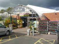 Barnett Hill Garden Centre entrance
