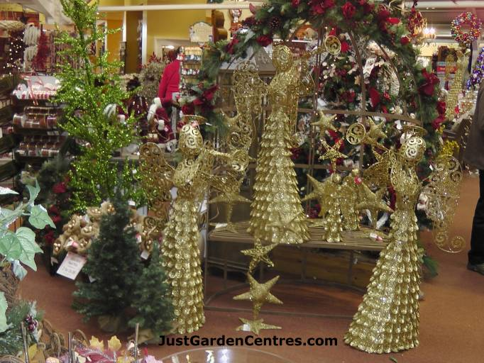 Christmas at Evesham Garden Centre