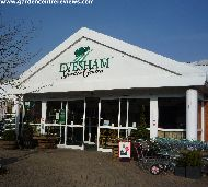Entrance to Evesham Garden Centre