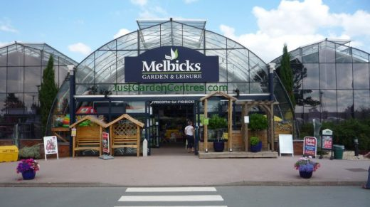 Entrance to Melbicks Garden Centre