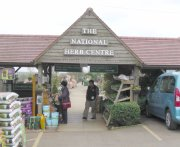 Entrance to National Herb Centre