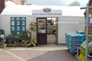 Entrance to ransons Garden Centre