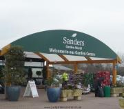 Entrance to Sanders Garden World
