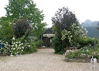 Entrance to Seales Nurseries in Farnham