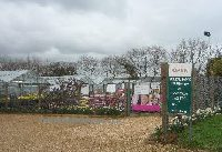 Entrance to Springbank Nursery, Newchurch, Isle of Wight