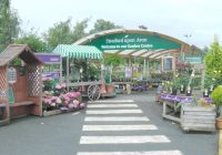 Entrance to Stratford on Avon Garden Centre