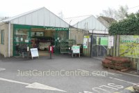 Entrance to West Somerset Garden Centre