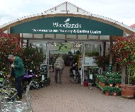 Entrance to Woodlands Garden Centre